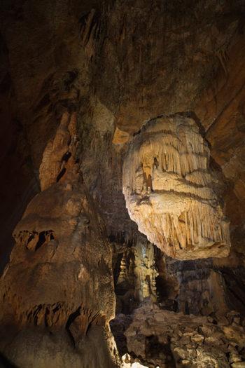 Grotte des Carbonnières à Lacave dans le Lot Quercy